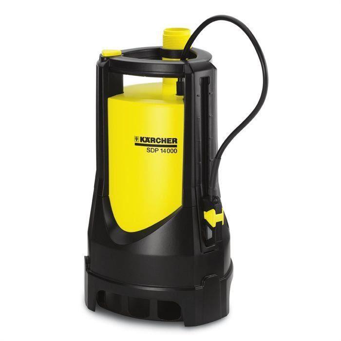 KÄRCHER Pompe d''évacuation eau chargée 'SDP 14000 pour 122€