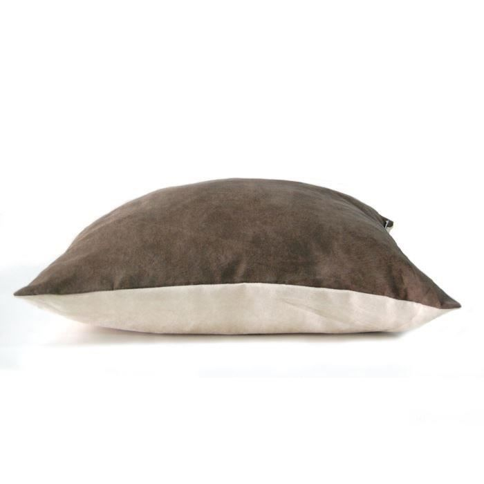 Coussin recto verso TAUPE & IVOIRE pour 13€