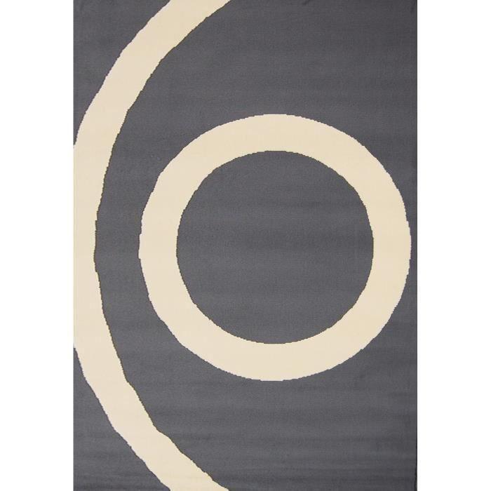 Tapis SPHERE Gris - Chantilly - Dim : 120*160 cm pour 20€