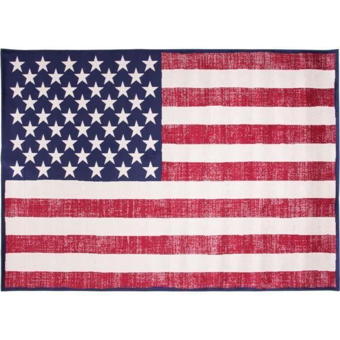 VINTAGE USA Tapis 160x230 pour 55€