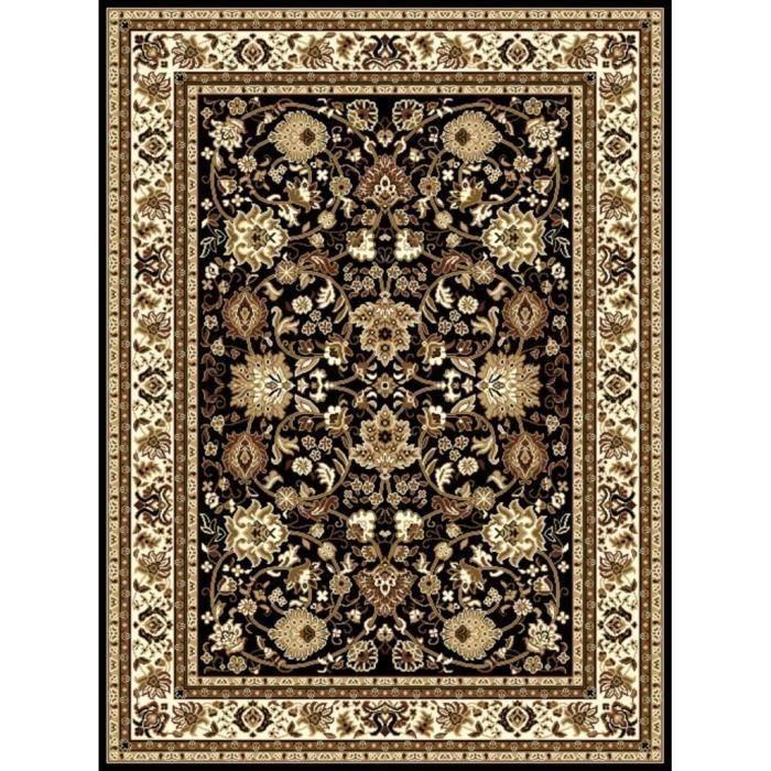 Tapis d'Orient contemporain - Dim 160*230 cm Noir pour 46€