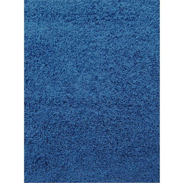 Tapis DECO bleu pétrole 200 x 290 cm pour 141€