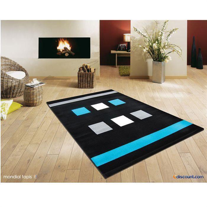 Tapis 758 noir/turquoise 200x290cm pour 171€