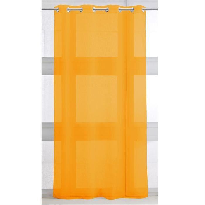Voilage 135/240 vendange d'orange pour 8€