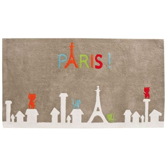 Tapis 'Paris' 100% coton pour 63€