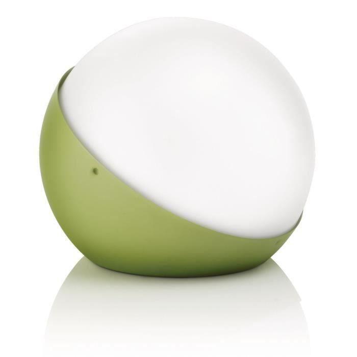 Lampe de table ALFINE vert 1x25W pour 20€