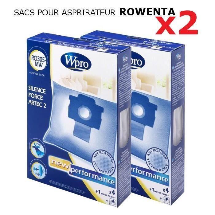 Sacs pour aspirateur Rowenta x2 pour 6€