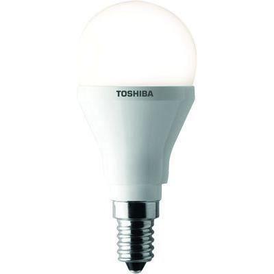 TOSHIBA Ampoule LED Globe dépolie E14 25W pour 4€