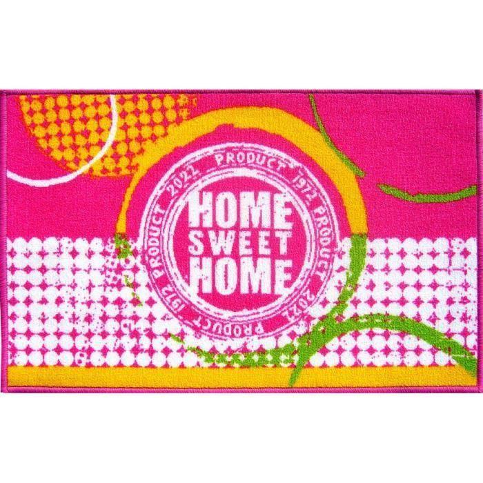 Tapis de cuisine 45x75 HOME SWEET HOME pour 4€
