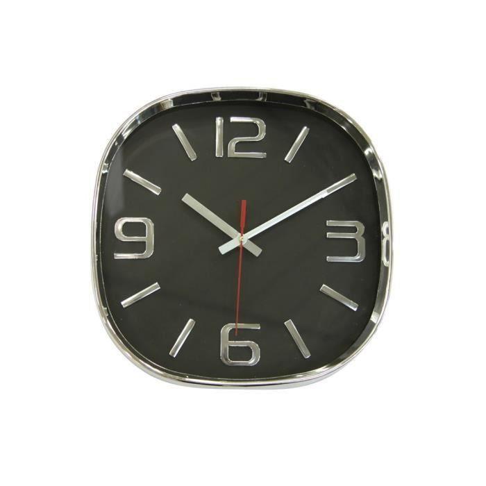 Horloge basic gris 30cm pour 8€