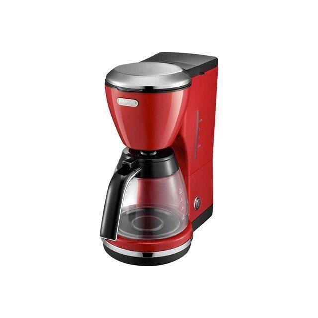 Cafeti re icona rouge delonghi icmo210r moncornerdeco - Cafetiere grain delonghi ...