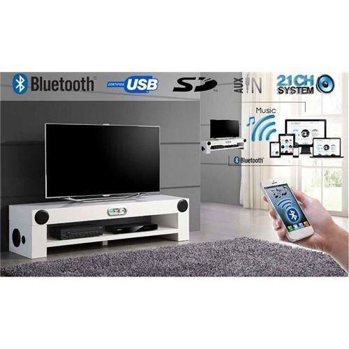 meuble tv high tech beni led bluetooth sur salon salle manger bon prix moncornerdeco. Black Bedroom Furniture Sets. Home Design Ideas