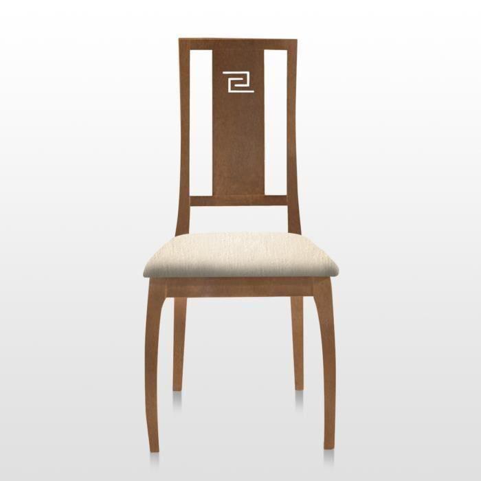 Chaise bora teinte boiserie naturel tapisserie salon - Tapisserie salle a manger ...