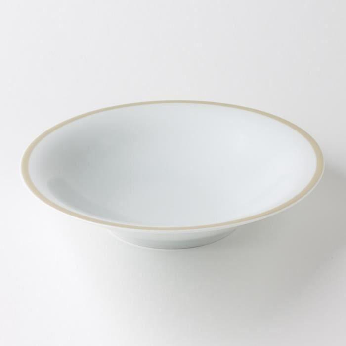 table passion assiette calotte filet22 sable moncornerdeco. Black Bedroom Furniture Sets. Home Design Ideas