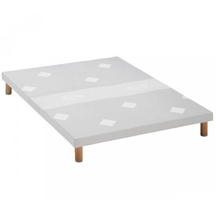 sommier tapissier merinos confort medium extra plat. Black Bedroom Furniture Sets. Home Design Ideas