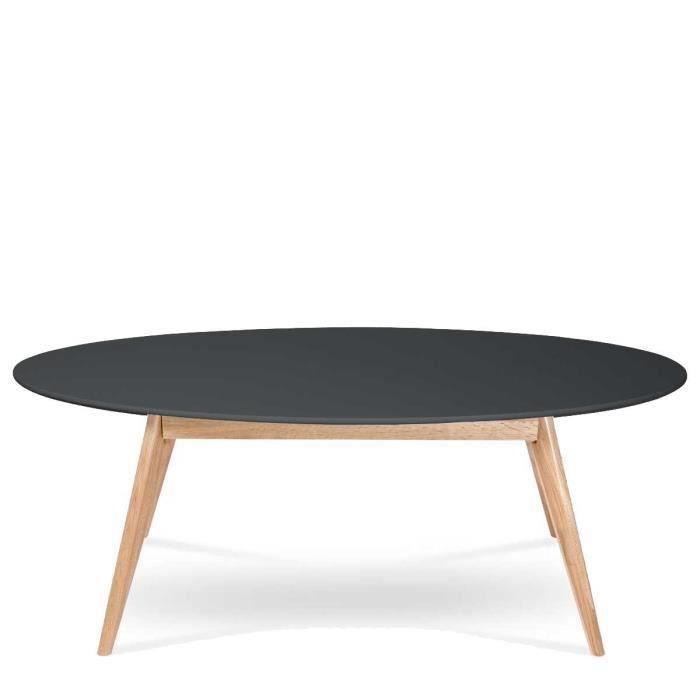 table basse ovale design scandinave skoll couleur salon salle manger bon prix. Black Bedroom Furniture Sets. Home Design Ideas