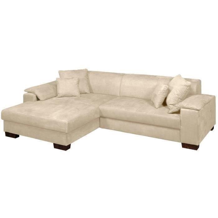 giani canap d 39 angle gauche convertible tissu salon salle ma. Black Bedroom Furniture Sets. Home Design Ideas