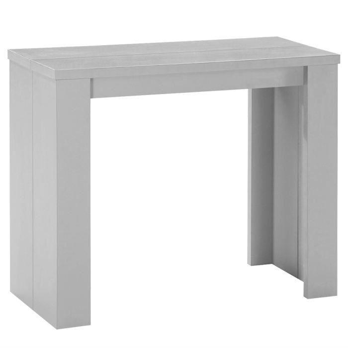 Table console brookline argent meubles bon prix - Table console brookline ...