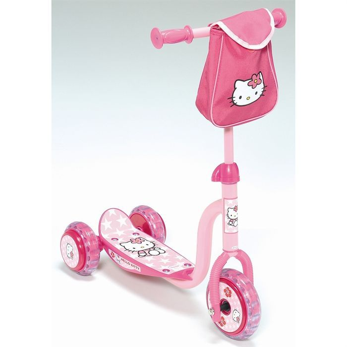 achat hello kitty trottinette  roues