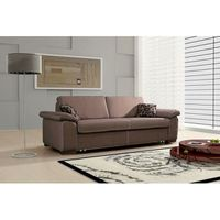 rodeo canape 3 places convertible microfibre choco