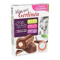 GERLINEA Barre Chocolat coeur de Coco 372g