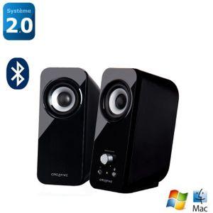 Enceintes multimedia 2.0 CREATIVE T12 NOIR 2.0