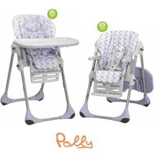 Chicco chaise haute polly 2 en1 butterfly violet et blanc for Chaise haute polly 2en1 chicco