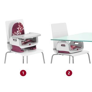 CHICCO Rehausseur UP TO 5 Cherry