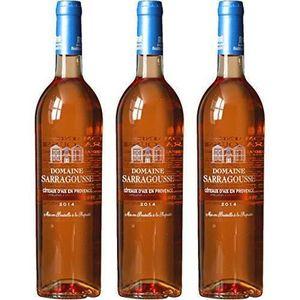 VIN ROSÉ DOMAINE SARRAGOUSSE MDC Vin Coteaux d'Aix en Prove