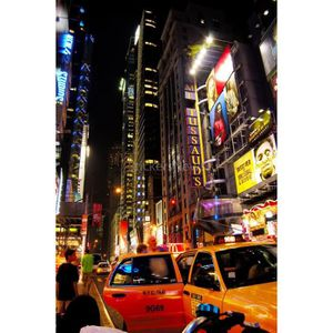 Poster new york achat vente poster new york pas cher for Autocollant mural new york