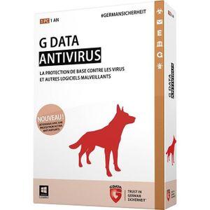 ANTIVIRUS G Data AV2015  1 Pc/1 an