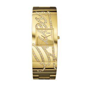MONTRE Montre GUESS Autograph métal doré avec cristaux