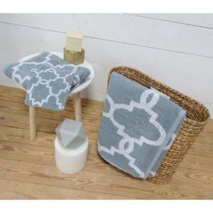 PARURE DE BAIN TODAY Parure de bain Mosaik 100% coton - 1 gant +
