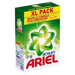 LESSIVE ARIEL Lessive poudre Regulier 57 doses
