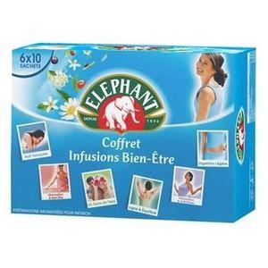 INFUSION ELEPHANT Coffret Infusion Bien-Etre 60 Sachets