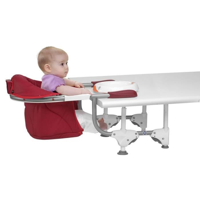 Chicco si ge de table 360 scarlet scarlet achat vente chaise haute 80591 - Chaise bebe accroche table ...