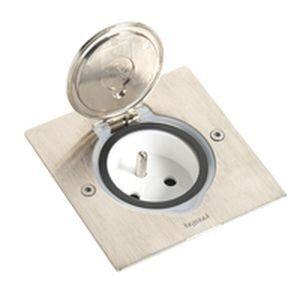 receptacle pour prise electrique de sol achat vente goulotte cache fil soldes d t. Black Bedroom Furniture Sets. Home Design Ideas
