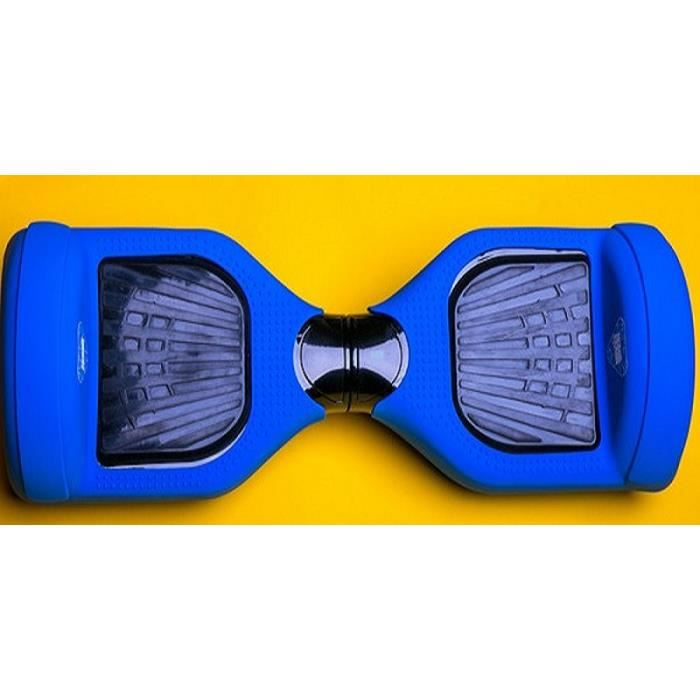 coque silicone bleu pour hoverboard gyropode monorover. Black Bedroom Furniture Sets. Home Design Ideas