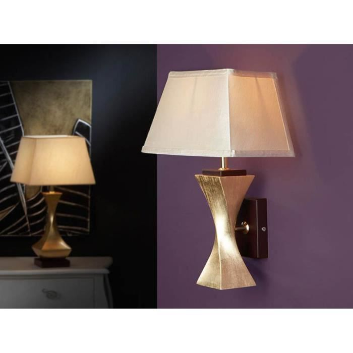 applique originale mod le deco feuille d 39 or achat. Black Bedroom Furniture Sets. Home Design Ideas