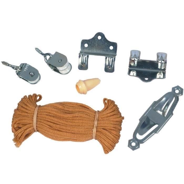 kit complet pour montage store cordon chamois achat vente store de fen tre les soldes. Black Bedroom Furniture Sets. Home Design Ideas