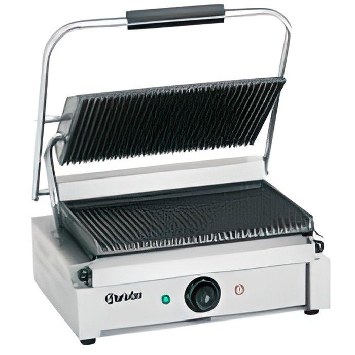 grill panini professionnel plaques rainur es achat vente grill lectrique les soldes. Black Bedroom Furniture Sets. Home Design Ideas