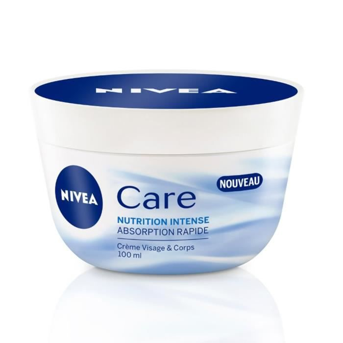 nivea care nutrition intense pot 100ml achat vente hydratant corps nivea nutrition intense. Black Bedroom Furniture Sets. Home Design Ideas