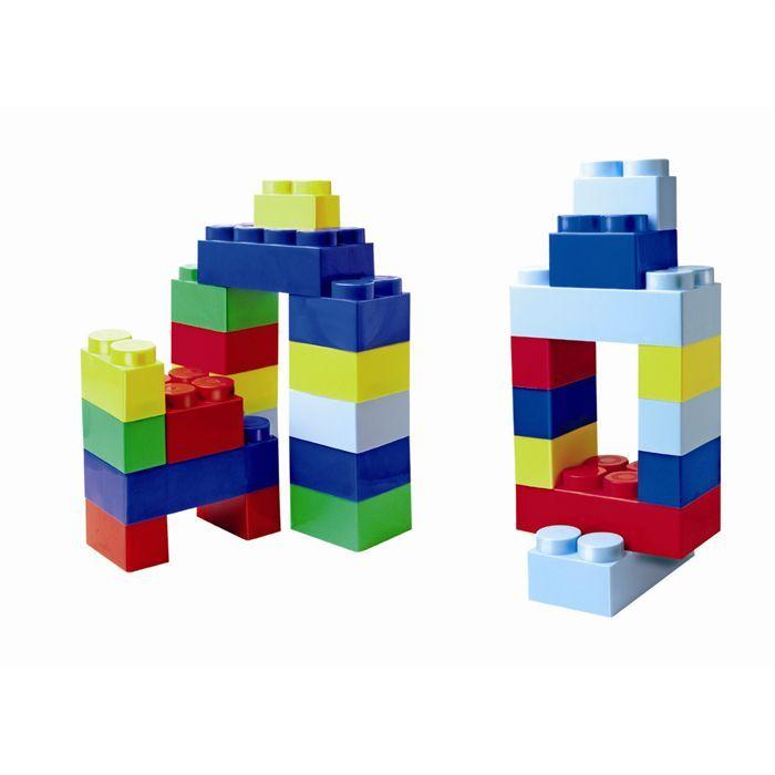 ASSEMBLAGE CONSTRUCTION Pack 30 briques géantes Abrick