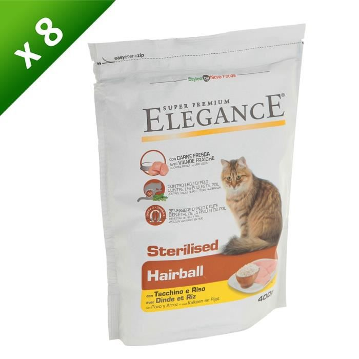 croquettes elegance chat
