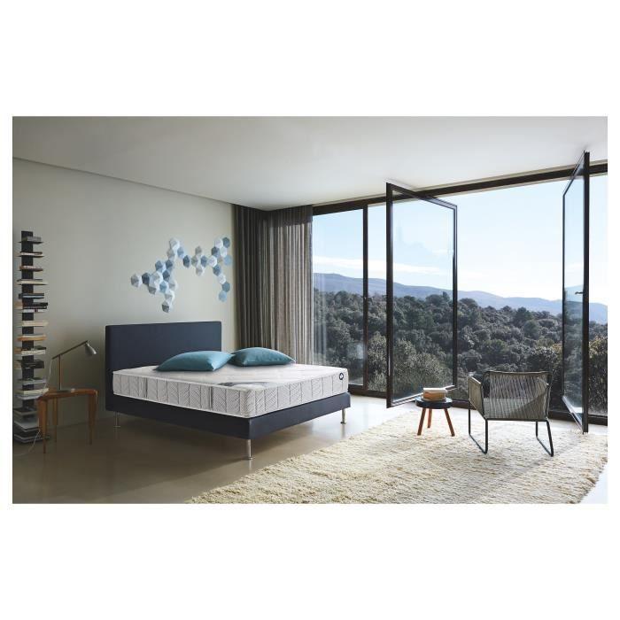 ensemble matelas mousse et sommier en 130 achat vente. Black Bedroom Furniture Sets. Home Design Ideas