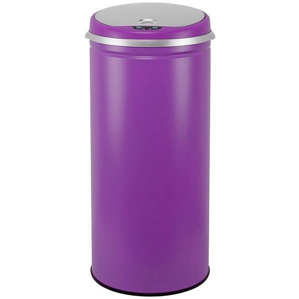 kitchen move poubelle automatique 42l aubergine mat bat 42li aubergine achat vente. Black Bedroom Furniture Sets. Home Design Ideas