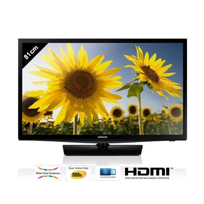 samsung ue32h4000 tv led hd 81 cm achat vente. Black Bedroom Furniture Sets. Home Design Ideas