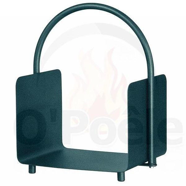 panier b ches en acier avec anse achat vente panier porte buches acier cdiscount. Black Bedroom Furniture Sets. Home Design Ideas
