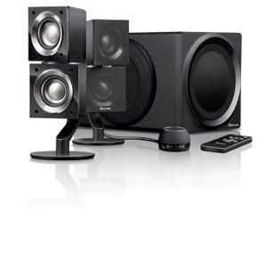 enceinte ordinateur avec caisson de basse prix pas cher cdiscount. Black Bedroom Furniture Sets. Home Design Ideas
