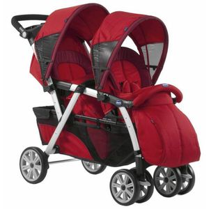 CHICCO Poussette Double Together Fire